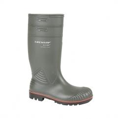 ACIFORT Mens S5 Safety Wellington Boots Dark Green