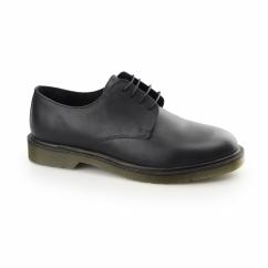 AVON Mens 4 Eyelet Uniform Shoes Black