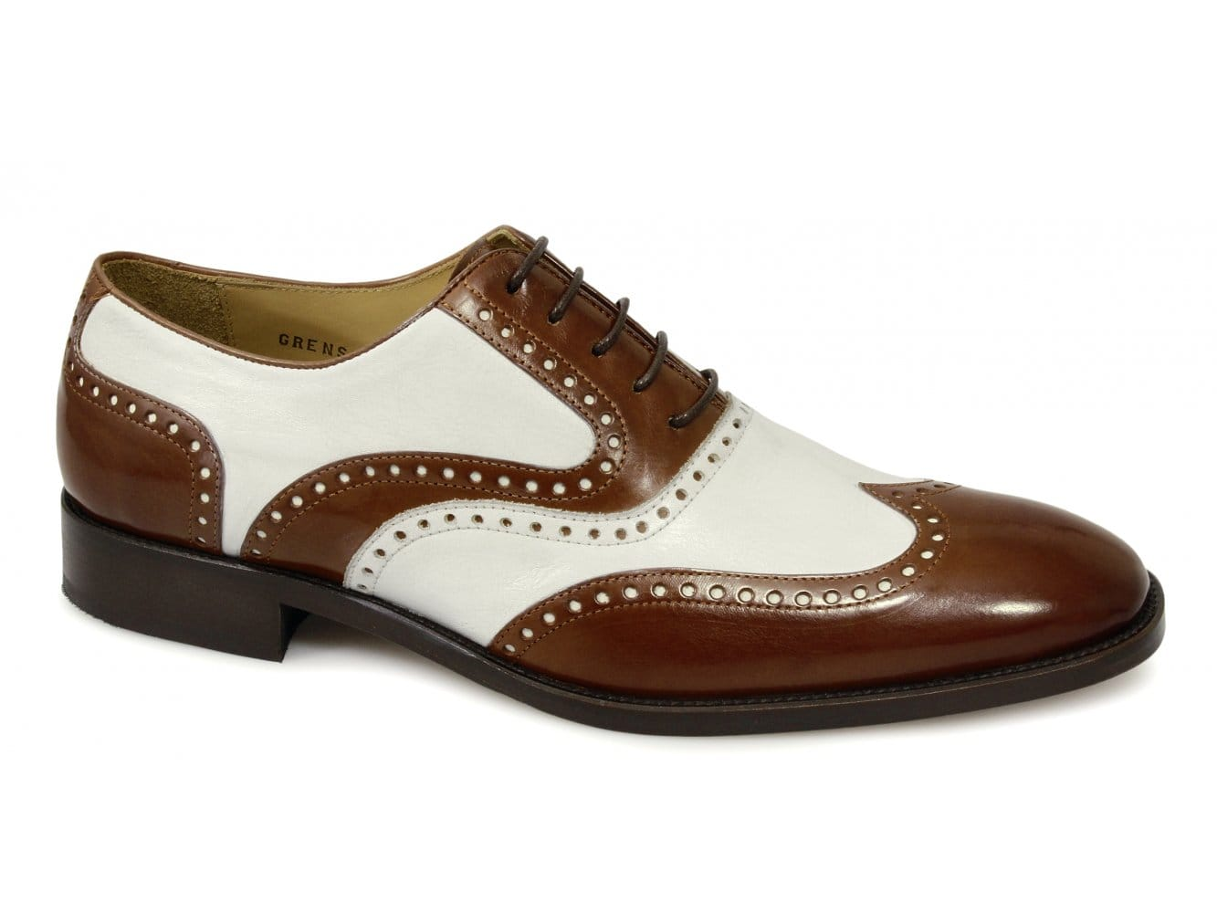 shuperb mens welted leather funky gangster dress brogue