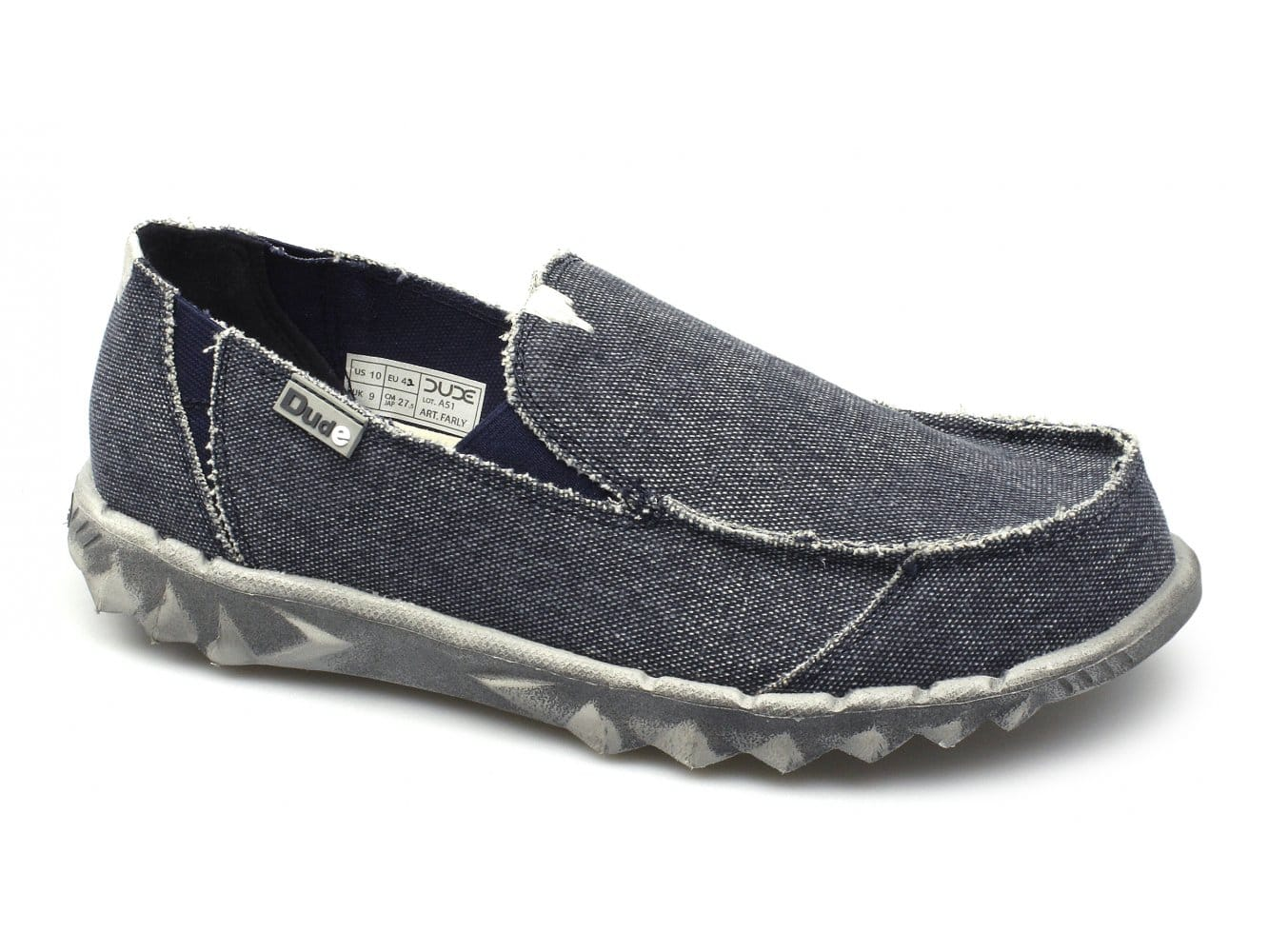 Canvas Wide Fitting Shoes