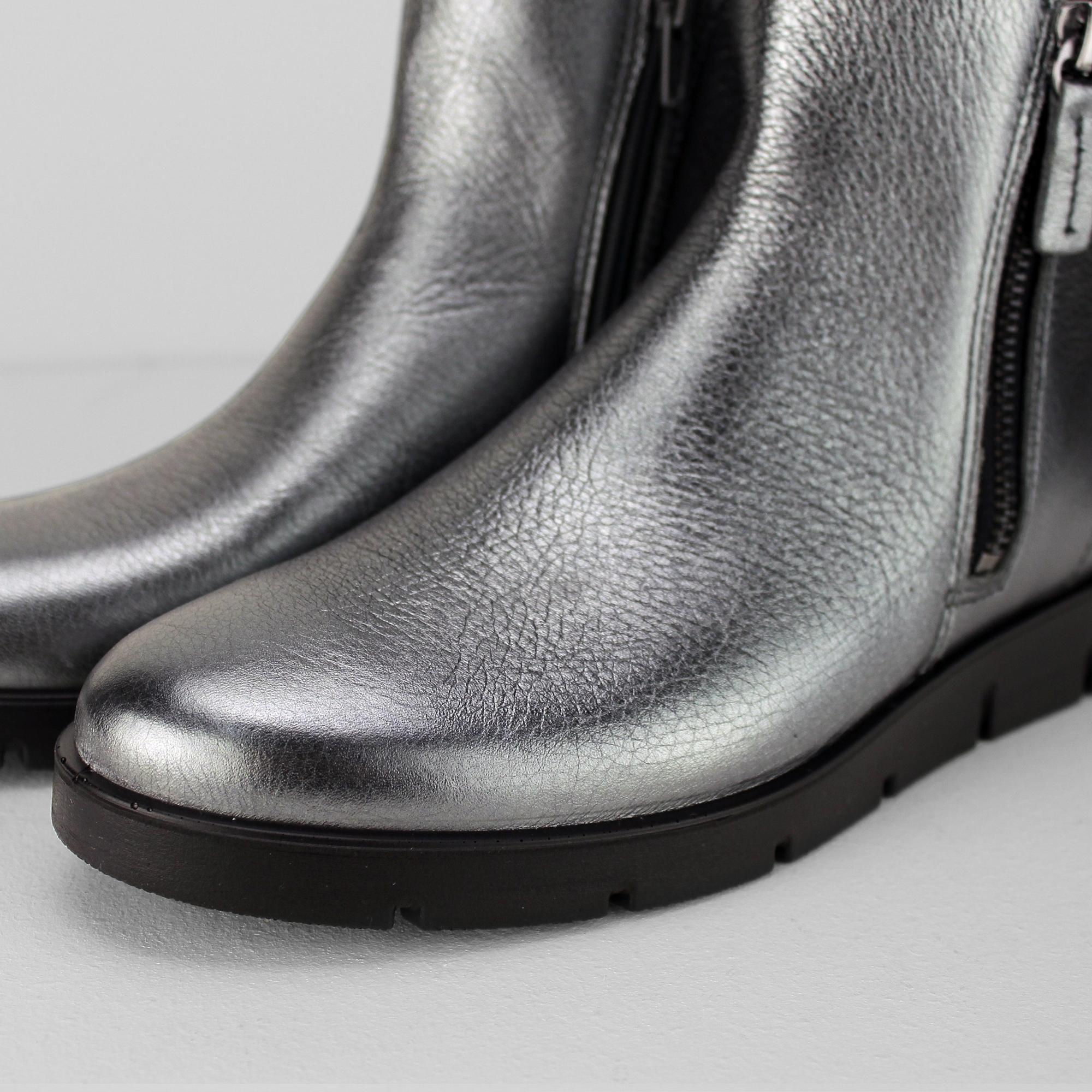 ecco bella botte mesdames wo  scintillant des des des bottines en cuir métallique   Les Clients D'abord  d0f23c
