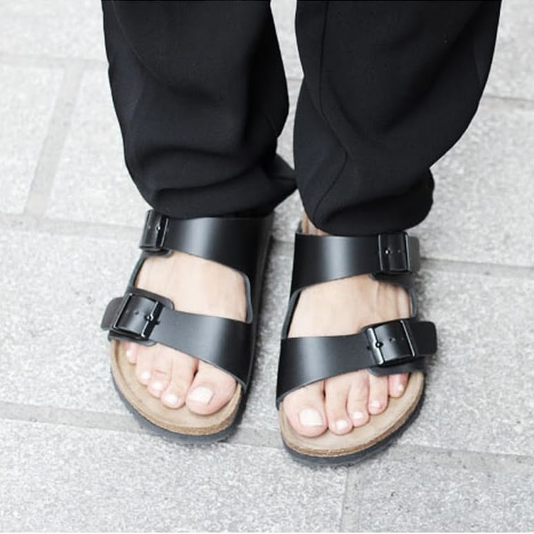 Birkenstocks could be what you're missing.