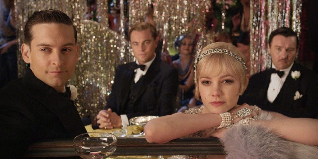 the development of toms character in the film of the great gatsby In both book and movie, gatsby is waiting for a phone call from daisy, but in the film, nick calls, and gatsby gets out of the pool when he hears the phone ring.