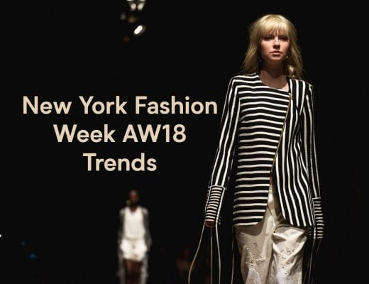 New york Fashion Week AW18 Trends