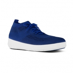 ÜBERKNIT™ Ladies Knitted Slip On Trainers Mazarine Blue