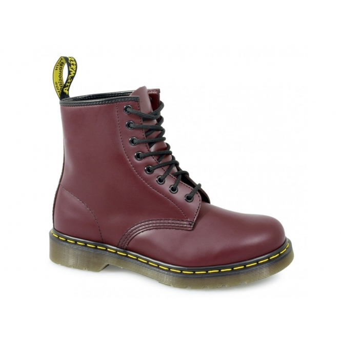 Dr Martens 1460 Unisex Classic 8 Eye Boots Cherry Red