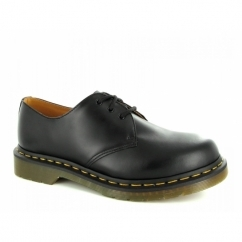1461z Unisex Classic Z-Welt 3 Eyelet Shoes Black