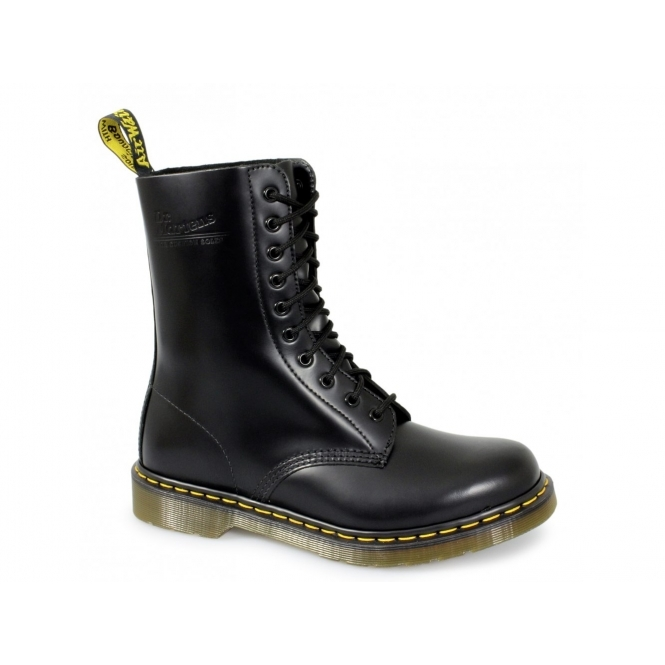 Dr Martens 1490z Unisex Classic Airwair 10 Eyelet Boots Black