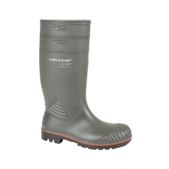 ACIFORT Mens S5 Safety Wellington Boots Dark Green