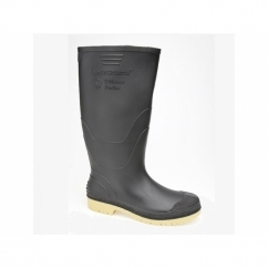 ADMINISTRATOR Mens Gents Wellington Boots Black