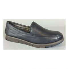 FOUR WILLIAM Ladies Leather Slip On Loafers Cafu