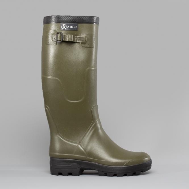 5c73cc192 Aigle BENYL Unisex Buckle Wellington Boots Kaki