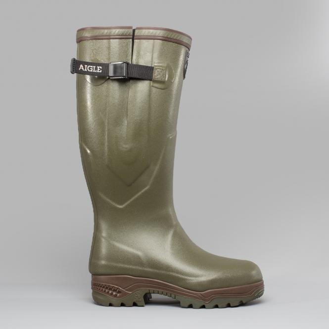 nouveau concept 3b948 a131e PARCOURS 2 ISO Unisex Buckle Wellington Boots Khaki