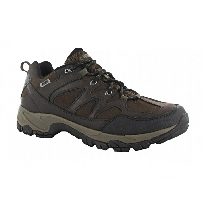 hi tec altitude trek low mens waterproof walking shoes