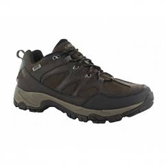 ALTITUDE TREK LOW i Mens Waterproof Walking Shoes Dark Chocolate