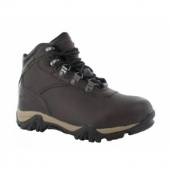 ALTITUDE V JR Boys Waterproof Hiking Boots Dark Chocolate