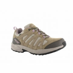 ALTO II LOW WP Ladies Suede Trainers Taupe/Grey/Horizon