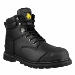 FS11 Mens Steel SB SRC Safety Boots Black