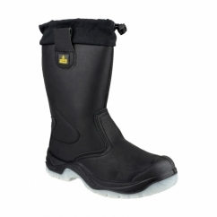 FS209 Unisex S3 Rigger Safety Boots Black