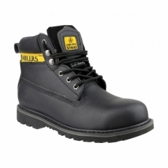 FS9 Unisex SB SRA Steel Safety Boots Black