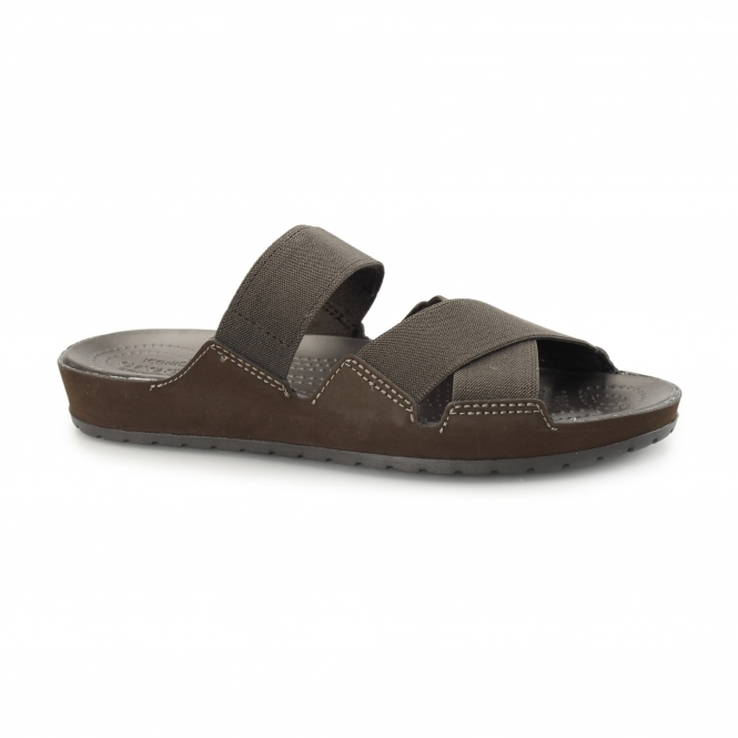 Crocs ANNA SLIDE Ladies Mule Sandals Espresso