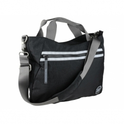 AQUA CROSS Mens Shoulder Holdall Bag Black