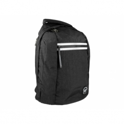 AQUA Unisex Laptop Backpack Black