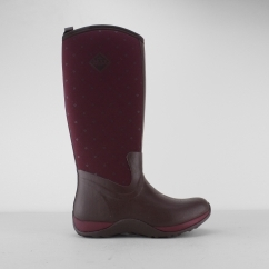 Muck Boots ARCTIC ADVENTURE Ladies Wellington Boots Red Quilt