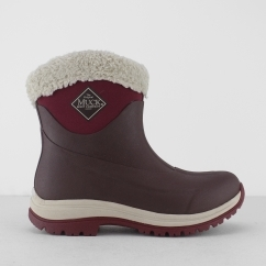 ARCTIC APRES Ladies Sip On Winter Boots Brown/Red