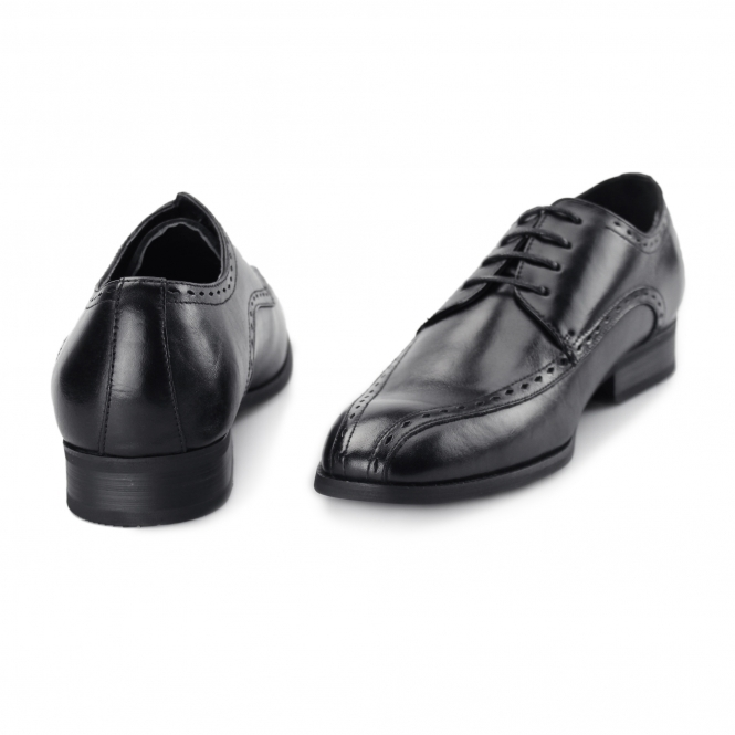 9709bae0b5 AZOR REGENT Mens Leather Oxford Smart Shoes Black