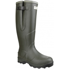 BALMORAL NEOPRENE Unisex Non-Safety Wellington Boots Olive