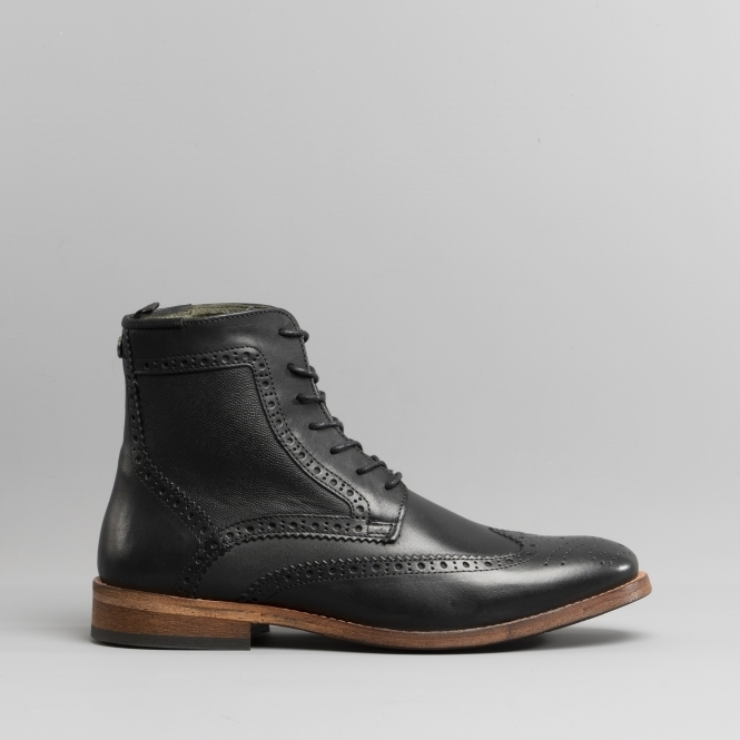 Barbour BELFORD Mens Leather Brogue