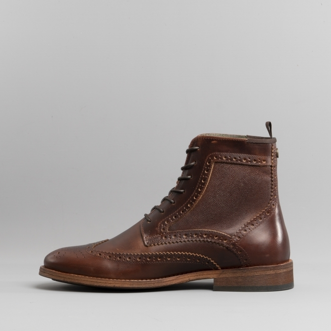barbour belford brogue boot