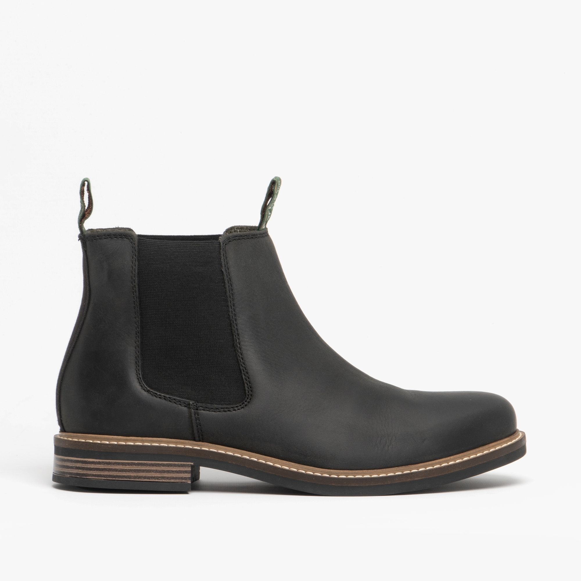 463706cc715 Barbour FARSLEY Mens Leather Chelsea Boots Black