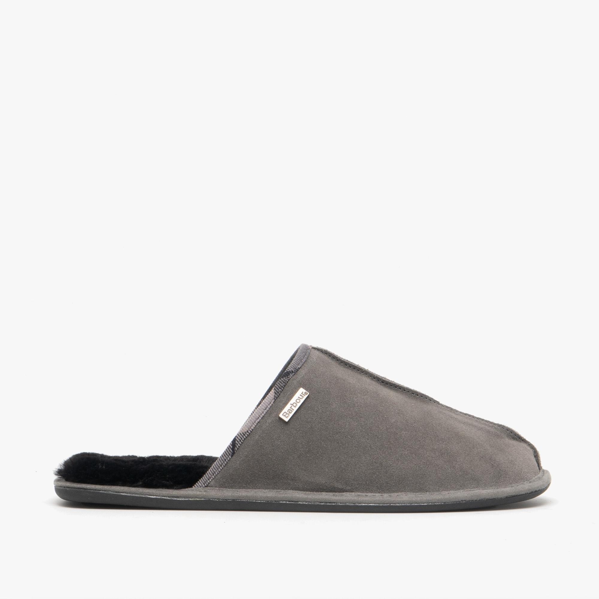 mens suede mule slippers uk
