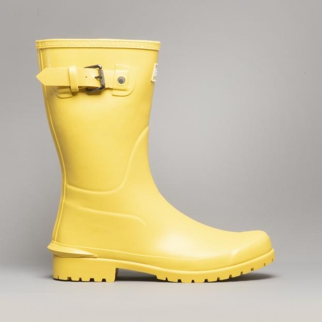 Yellow Wellington Boots