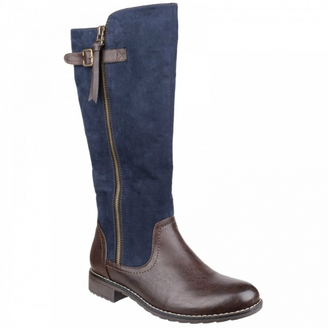 Divaz BARI Ladies Boots Navy
