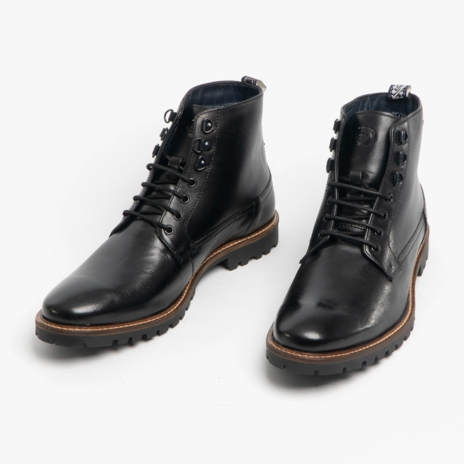 Base London CALLAHAN Mens Leather Ankle