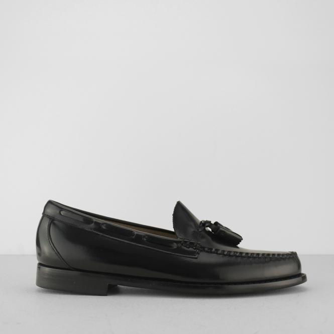 7ba348b8db8e6 LARKIN Mens Tassel Loafers Black