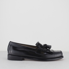 G.H. Bass & Co. Weejuns LAYTON Mens Kiltie Loafers Black