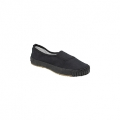 BENNY Unisex Single Gusset Plimsolls Black