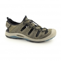 BIOM DELTA Mens Leather Trail Sandal Shoes Tarmac