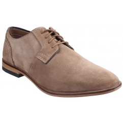 BIRCH LAKE BLUTCHER Mens Suede Leather Derby Shoes Vicuna