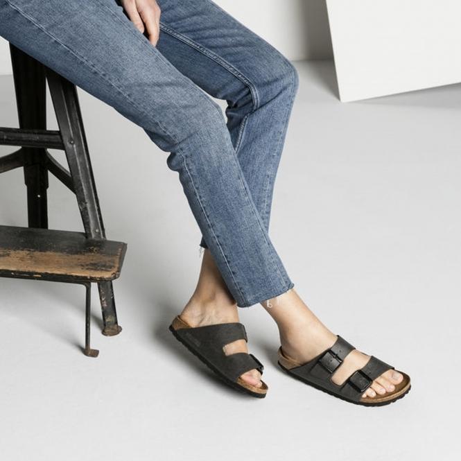 a86bf233c229 Birkenstock ARIZONA 1009366 Ladies Vegan Two Strap Sandals ...