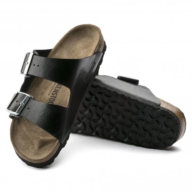 03ff098c0b36f Birkenstock ARIZONA 1009925 Ladies Two Strap Sandals Licorice   Shuperb