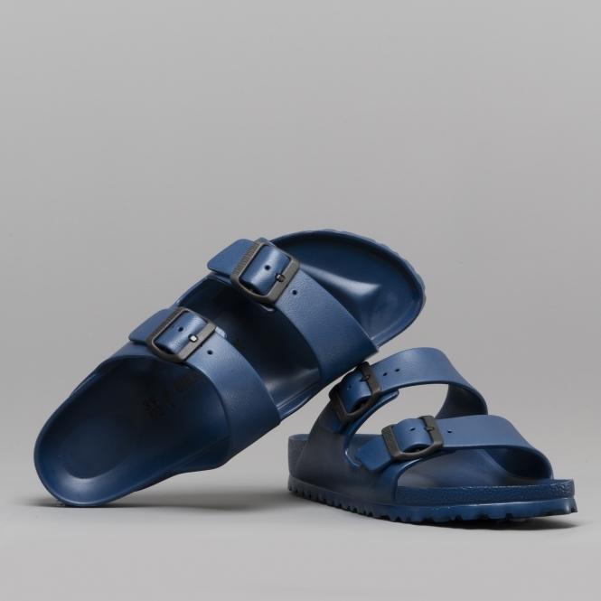 51865a0e922 Birkenstock ARIZONA 129433 Ladies Two Strap Sandals Navy