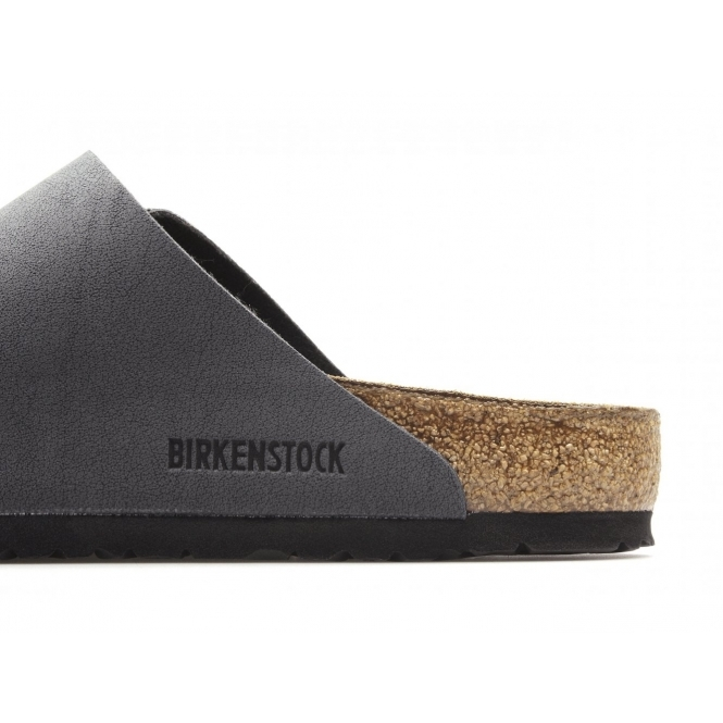 birkenstock arizona birko flor nubuck basalt