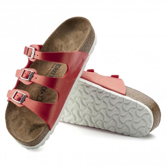 bea3e798637 Birkenstock FLORIDA 1008856 Ladies Three Strap Sandals Hibiscus ...