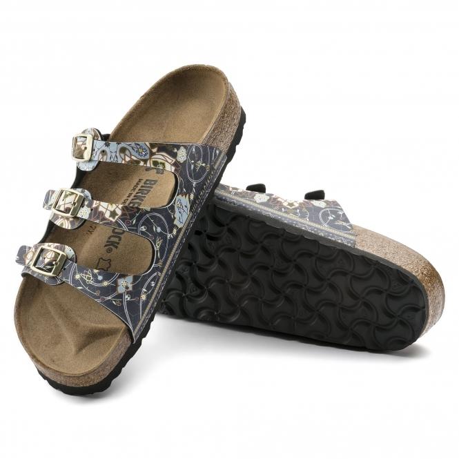 ccffbe590 Birkenstock FLORIDA 1009808 Ladies Three Strap Sandals