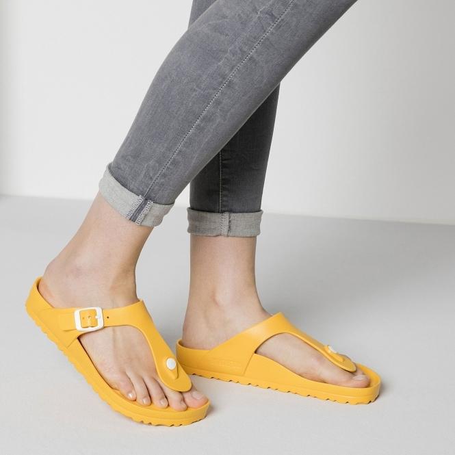 21d022c7433 Birkenstock GIZEH 1003525 Ladies EVA Lightweight Sandals Scuba Yellow